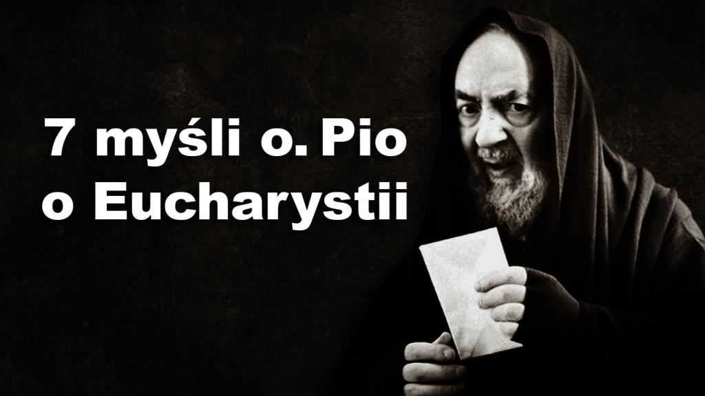 Ojciec Pio Eucharystia
