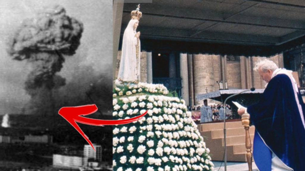 Zawierzenie Rosji i świata Niepokalanemu Sercu Maryi