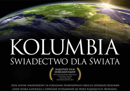Film religijny - Kolumbia swiadectwo dla swiata