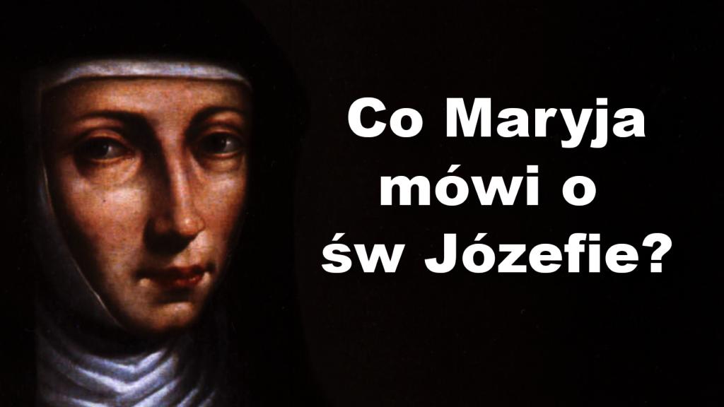 Matka Boża i św. Józef